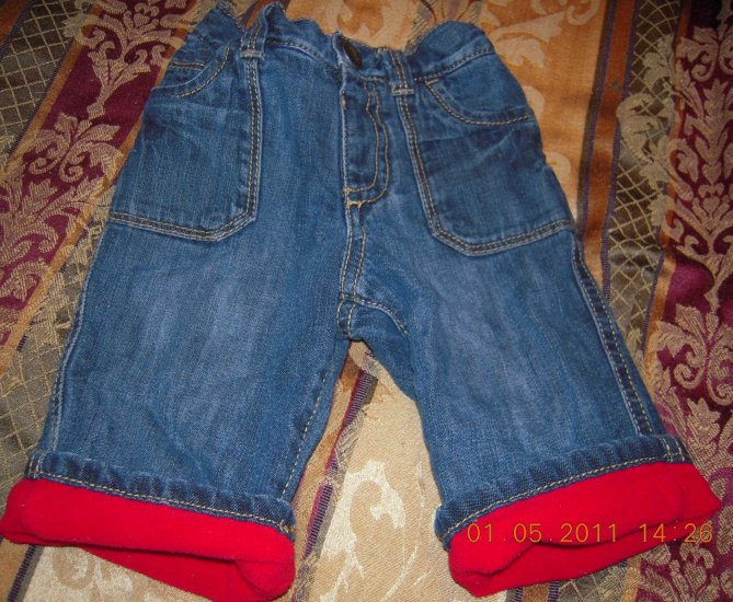 Old Navy Infant Cuff Jeans 0-3M