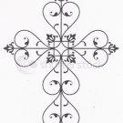 Fillagree cross stencil