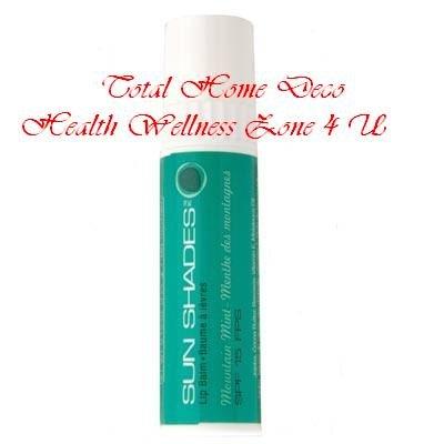 MELALEUCA Sun Shades Lip Balm SPF15 4.25g (Mountain Mint)