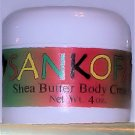 Sankofa Shea Butter Body Cream w/Melaleuca (Tea-tree) Oil - 4OZ
