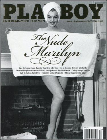 PLAYBOY- DECEMBER 2012 - THE NUDE MARILYN - AMANDA STREICH, DANY GIEHL