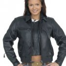 Ladies Motorcycle Jacket Z/O Lining w/ Airvents