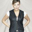 Ladies Vest Plain w/ Zipper Front