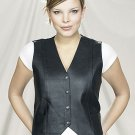 Ladies vest plain sides, V-Lace on the back