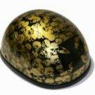 Eagle Novelty Gold Boneyard Helmet