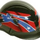 500-DOT Waving Rebel Flag helmet