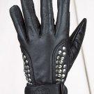 Ladies Full Finger Gloves w/ Studs