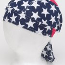 Cotton Skull Cap USA Stars & Stripes