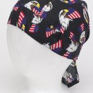 Cotton Skull Cap w/ American Eagle and Flag Logo