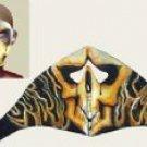 Fire Skull Face Mask w/ Velcro Strap on Back