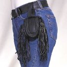 Folding Pouch w/ Fringes and Braid