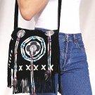 Ladies Pocket Book w/ Bones, Beads and Fringes