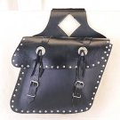 Medium Saddlebag Concho w/ Studs, Slant