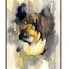Set of Eight Watercolor Siamese Cat Notecards Note Cards