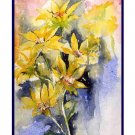 Watercolor Arrowleaf Balsamroot Flower Notecards Note cards Set of Eight