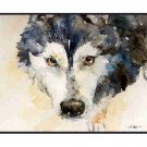 8 Watercolor Eyes of a Siberian Husky Greeting Note Cards Notecards
