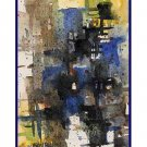 8 Watercolor Abstract Squares Notecards Note Cards