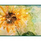 8 Watercolor Sunflower Note Cards Notecards