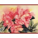 Watercolor Rhododendron Note Cards