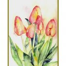 Tiptoe Through the Tulips Watercolor Cards