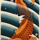 Asian Koi Fish Art Poster Print