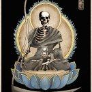 The Grim Reaper Gothic Macabre Art Print Memento Mori
