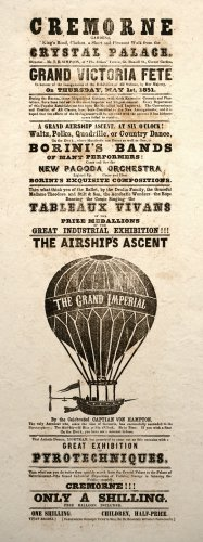 Steampunk Airship Ascent Art Poster