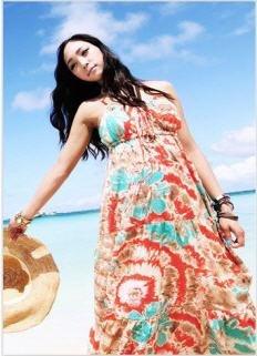 Korean Fashion -  Sleeveless Dress