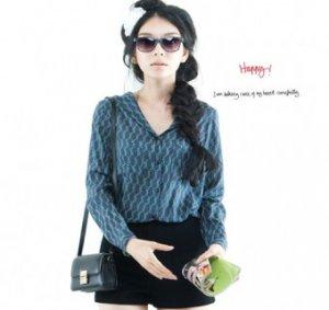 Korean Dresses - Christine Blouse