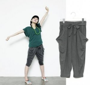 Short Baggy Pants | Petite Pants, Cute Pants, Korean Fashion Clothing