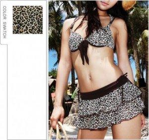 Leopard Bikini | Swimsuits, Cute Clothing, Asian Fashion, Korean Style
