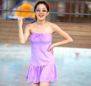 atSeoul Easywear | Purple Beach Wear, Cute Clothing, Asian Fashion, Korean Style