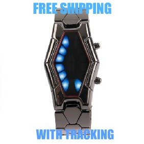 "THE NEW EXCLUSIVE "" SNAKE "" LED DIGITAL WRIST WATCH"