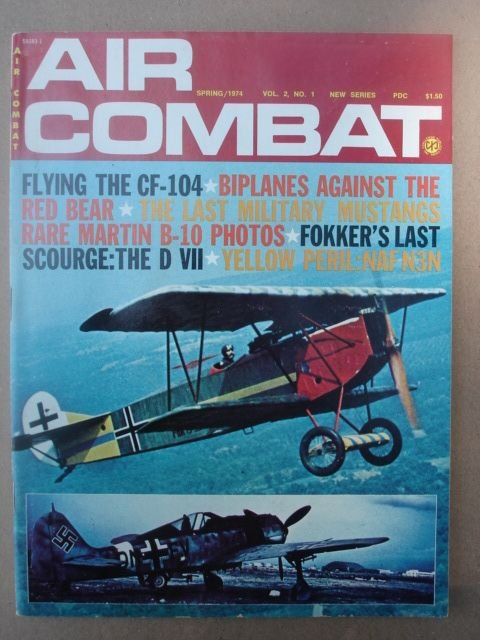 Air Combat, Spring/ 1974    Vol.2, No. 1