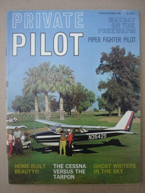 Private Pilot, October-November 1965    Vol. 1 No. 1