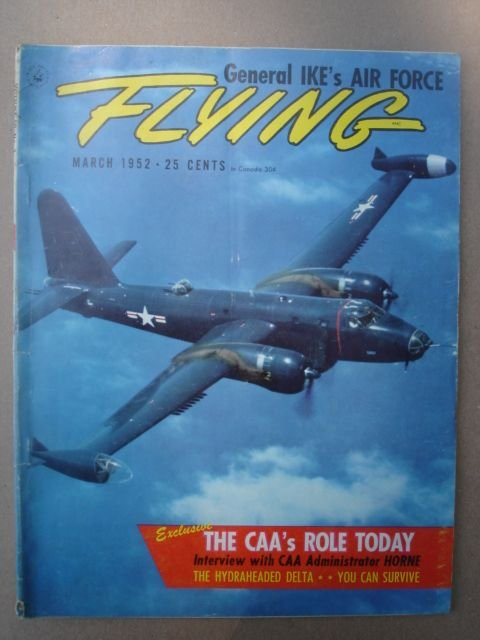 Flying, March 1952    Volume 50 Number 3
