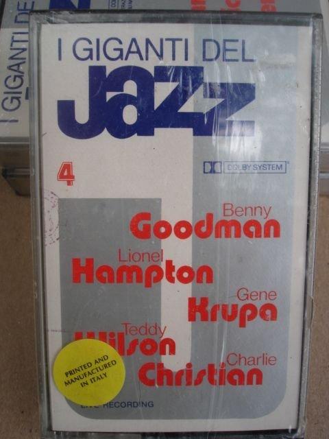 I Giganti Del Jazz Vol. 4 Benny Goodman, Lionel Hampton, Teddy Wilson, Gene Krupa ,Charlie Christian