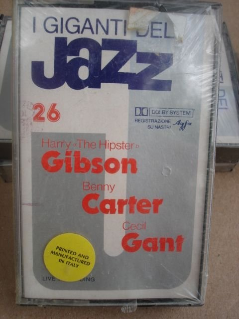 "I Giganti Del Jazz Vol. 26 - Harry ""The Hipster"" Gibson, Benny Carter, Cecil Gant"