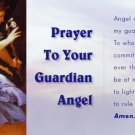 GUARDIAN ANGEL PRAYER CARD PC#93