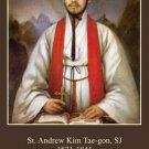 St. Andrew Kim Taegon / Korean Martyrs Holy Card #173
