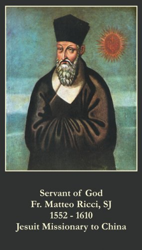 Servant of God - Fr Matteo Ricci  Prayer Card PC#210