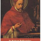 St. Robert Bellarmine Prayer Card PC#133