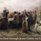 Thanksgiving Prayer Card PC#270