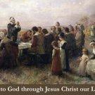Thanksgiving Prayer Card PC#270