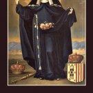 St. Elizabeth of Portugal Prayer Card PC#248
