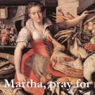 St. Martha Prayer Card PC#257