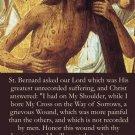 Shoulder Wound of Christ Prayer Card PC#196