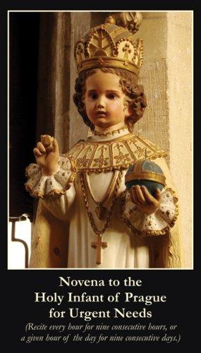 Infant of Prague Novena Prayer Card PC#215