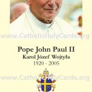 *NEW* ENGLISH Special Limited Edition Commemorative John Paul II Beatification Prayer Card PC#279