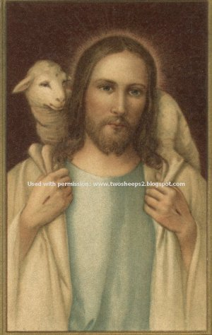 GOOD SHEPHERD - PSALM 23 PRAYER CARD PC#111